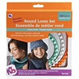 Authentic Knitting Board KB8150 ' 'Premium' Chunky Round Knitting Loom Set