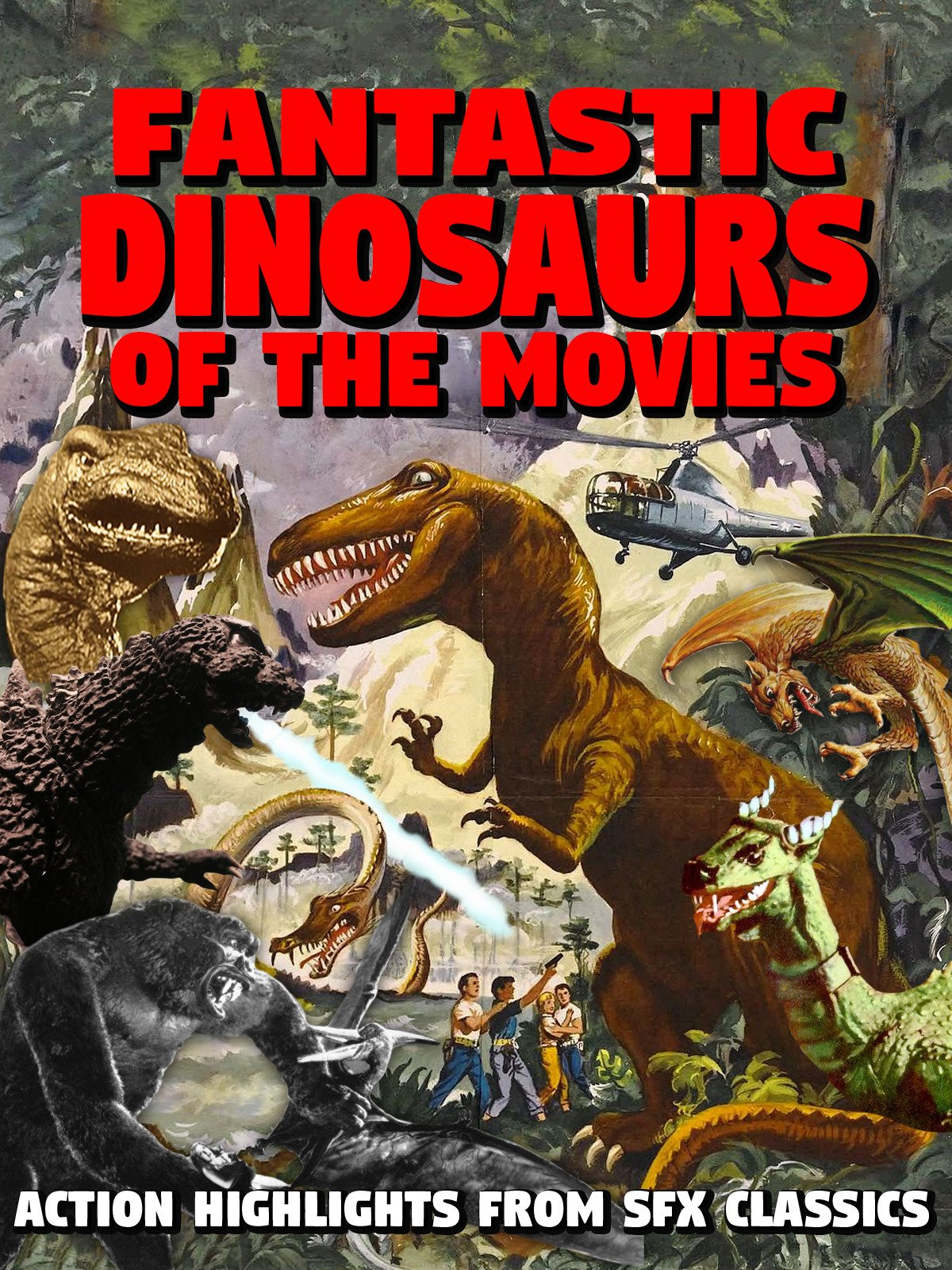Watch Fantastic Dinosaurs Of The Movies On Amazon Prime Instant Ama Zon Plus 1990