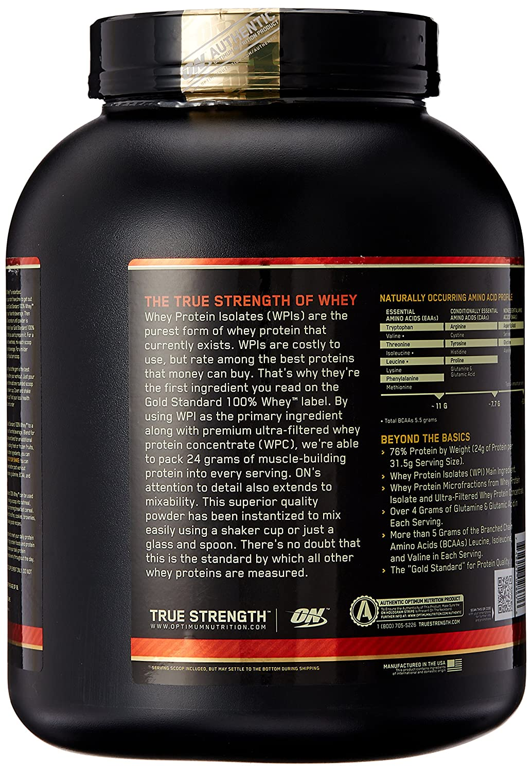 ON Whey Gold Standard - 5 lb Chocolate Mint