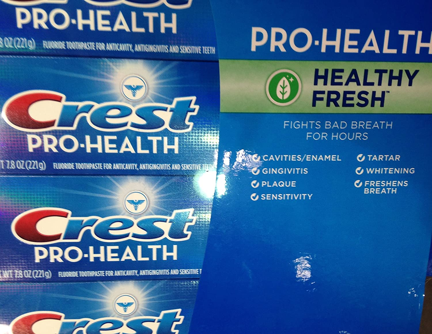 Crest Pro Health Healthy Fresh Toothpaste. 4/7.8 Oz концентрат health