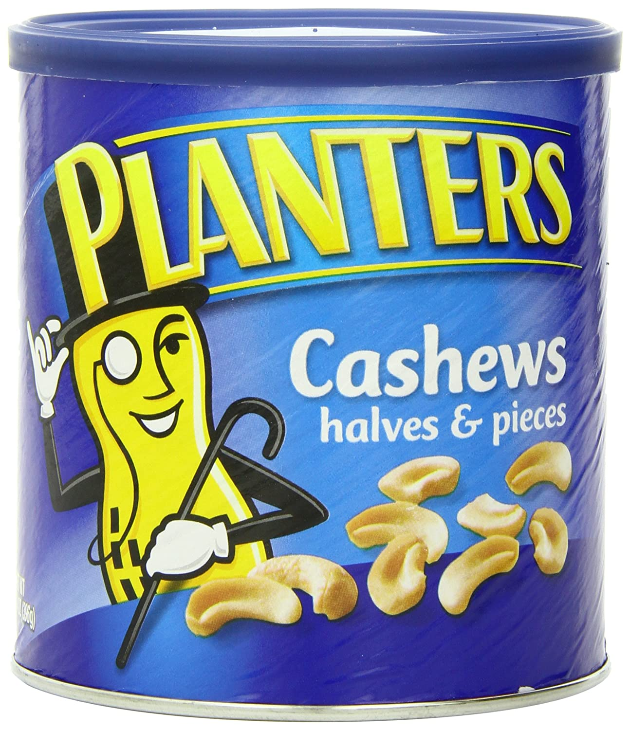 Planters Cashew Halves and Pieces, 14-Ounce (Pack of 3)