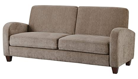 Julian Bowen Vivo 3 Seater Sofa, Fabric, Mink Chenille