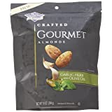 NEW - Blue Diamond Gourmet Almonds, Garlic, Herb and Olive Oil