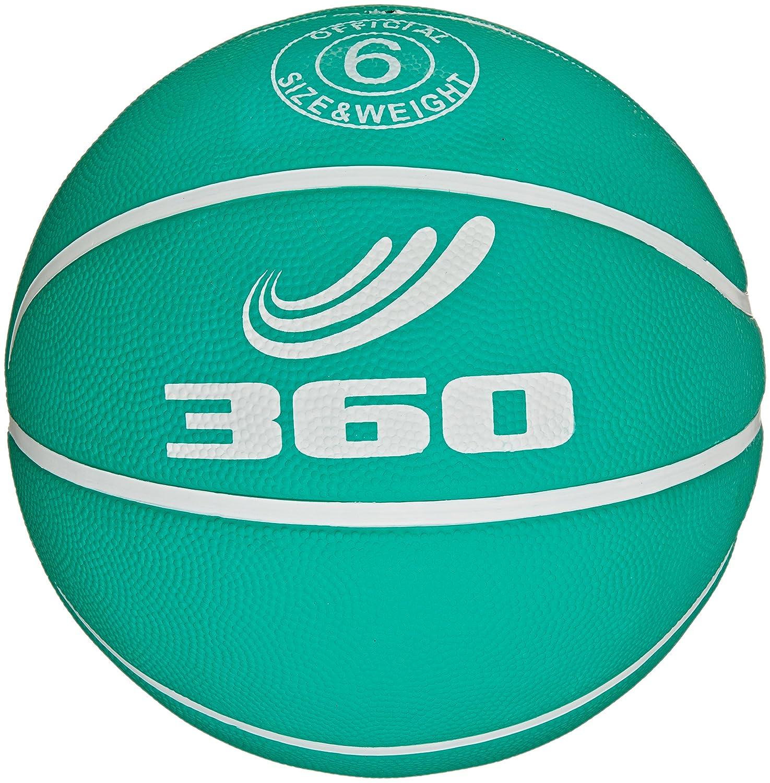 360Athletics Spielplatz Gummi Basketball, Größe 6, grün jetzt bestellen