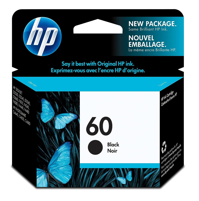 HP 60 (CC640WN) Black Original Ink Cartridge