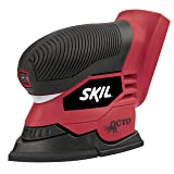 SKIL 7305-01 18-Volt Octo Multi Finishing Sander, Tool Only (Color: Red)
