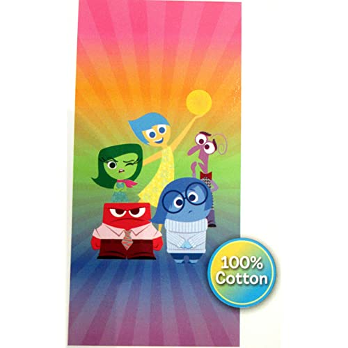 Disney Inside Out Cotton Beach Towel