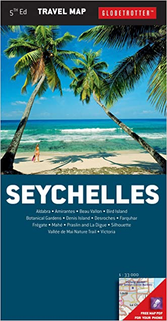 Seychelles Travel Map (Globetrotter Travel Map)