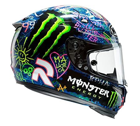 HJC - Casque moto - HJC RPHA 10 Plus Graffiti Lorenzo Monster