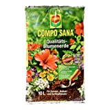 Compo 1113102 10 Litre Sana Potting Soil 42X25X7.9 cm Brown (Color: Brown, Tamaño: 42X25X7.9 Cm)