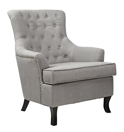 Shankar UK Jamestown Fabric Chair, 101 x 74.5 x 80 cm, Slate Grey