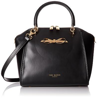 Ted Baker Black Leather Shoulder Bag 90