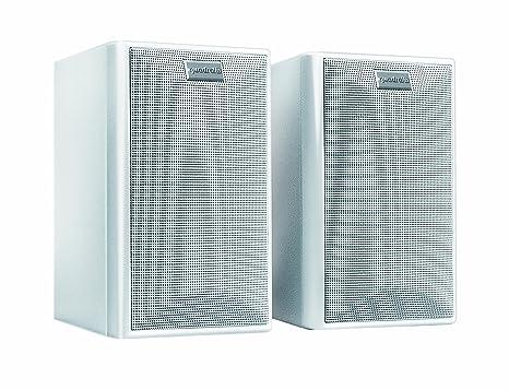 Quadral Maxi 330 W Haut-parleur 2 voies Lot de 2 100/150 W Blanc