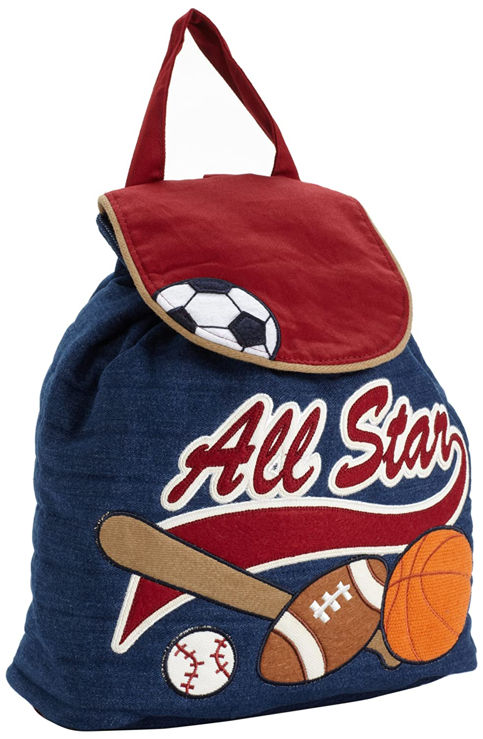 Stephen Joseph All Stars Sports Signature Quilted Backpack