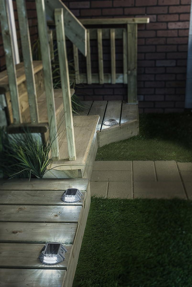 Manor House Solar LED Marker Lights - Set of 4