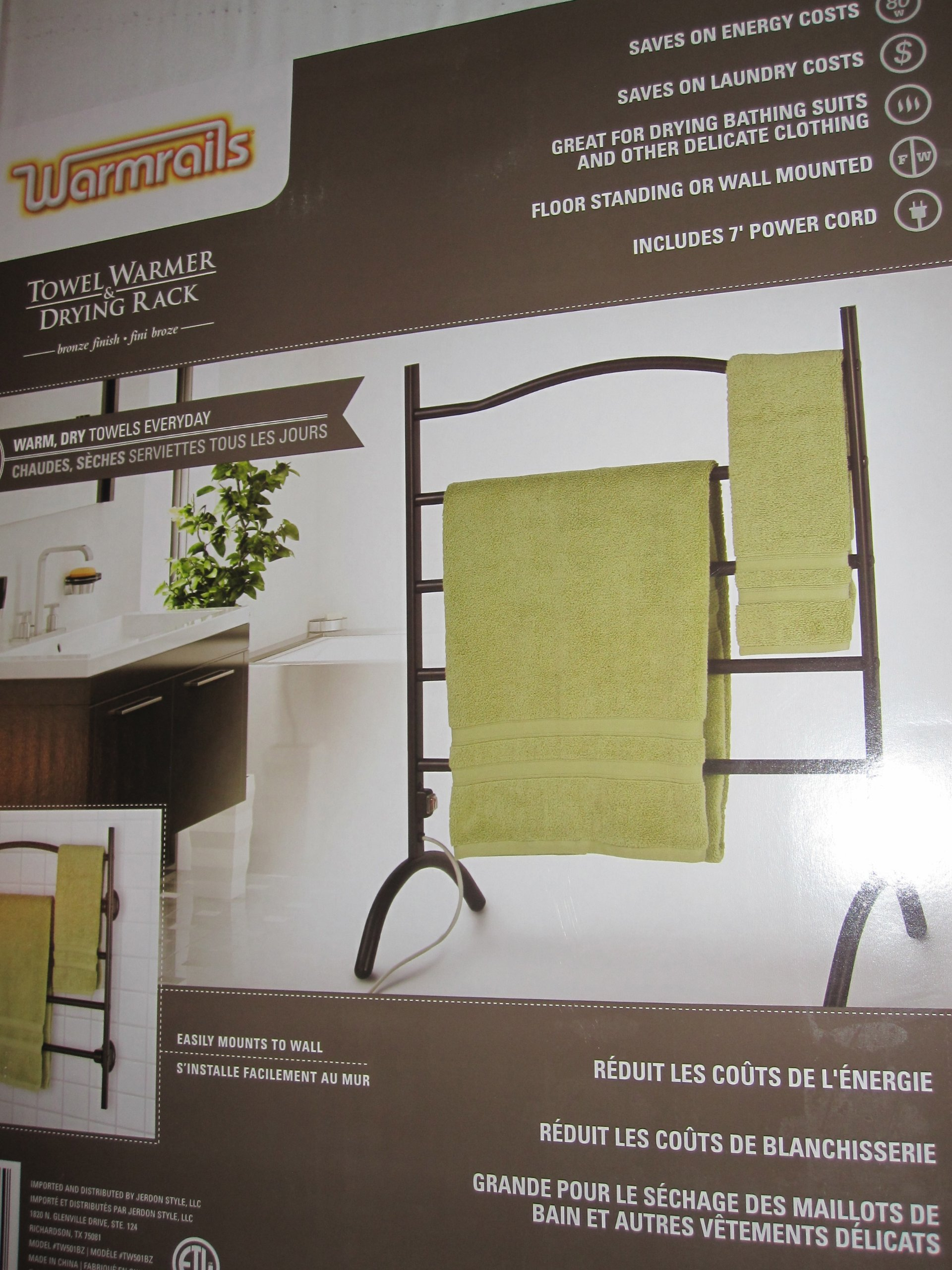 Towel Warmer, Electric Heat