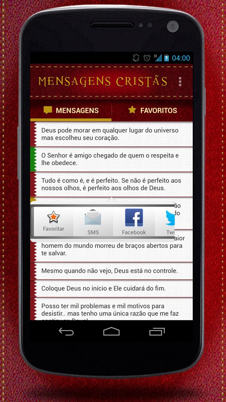 Amazon.com: Mensagens Cristãs: Appstore for Android