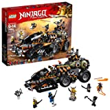LEGO NINJAGO Masters of Spinjitzu: Dieselnaut 70654 Ninja Warrior Toy and Playset, Fun Building Kit with Brick Battle Tank Vehicle (1179 Piece) (Color: Multicolor)