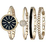 Anne Klein Women Watch and Bracelet Set