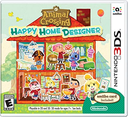 Video Game Weekly: Animal Crossing: Happy Home Designer — @Tlt16