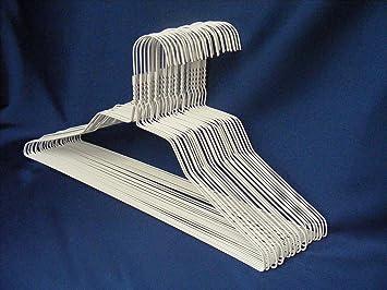 Hangerworld 25 verzinkte Drahtkleiderb/ügel 40cm Bunte Beschichtung Metall Kleiderb/ügel