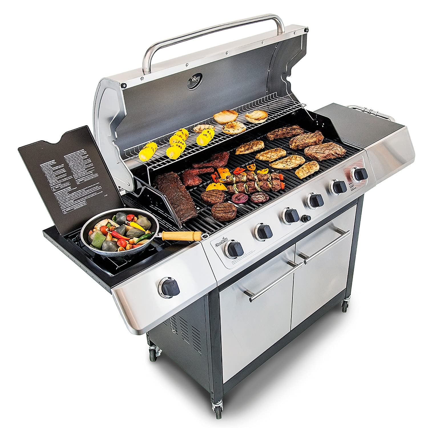 The Best Gas Grill Under $500 For Your Propane Grilling ...