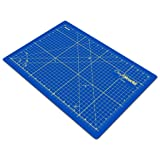 Crafty World Professional Self-Healing Double Sided Rotary Cutting Mat, Long Lasting Thick Non-Slip Mat 18