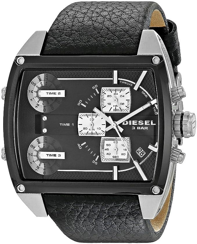 Diesel Men's DZ7326 Mothership Analog Display Analog Quartz Black Watch