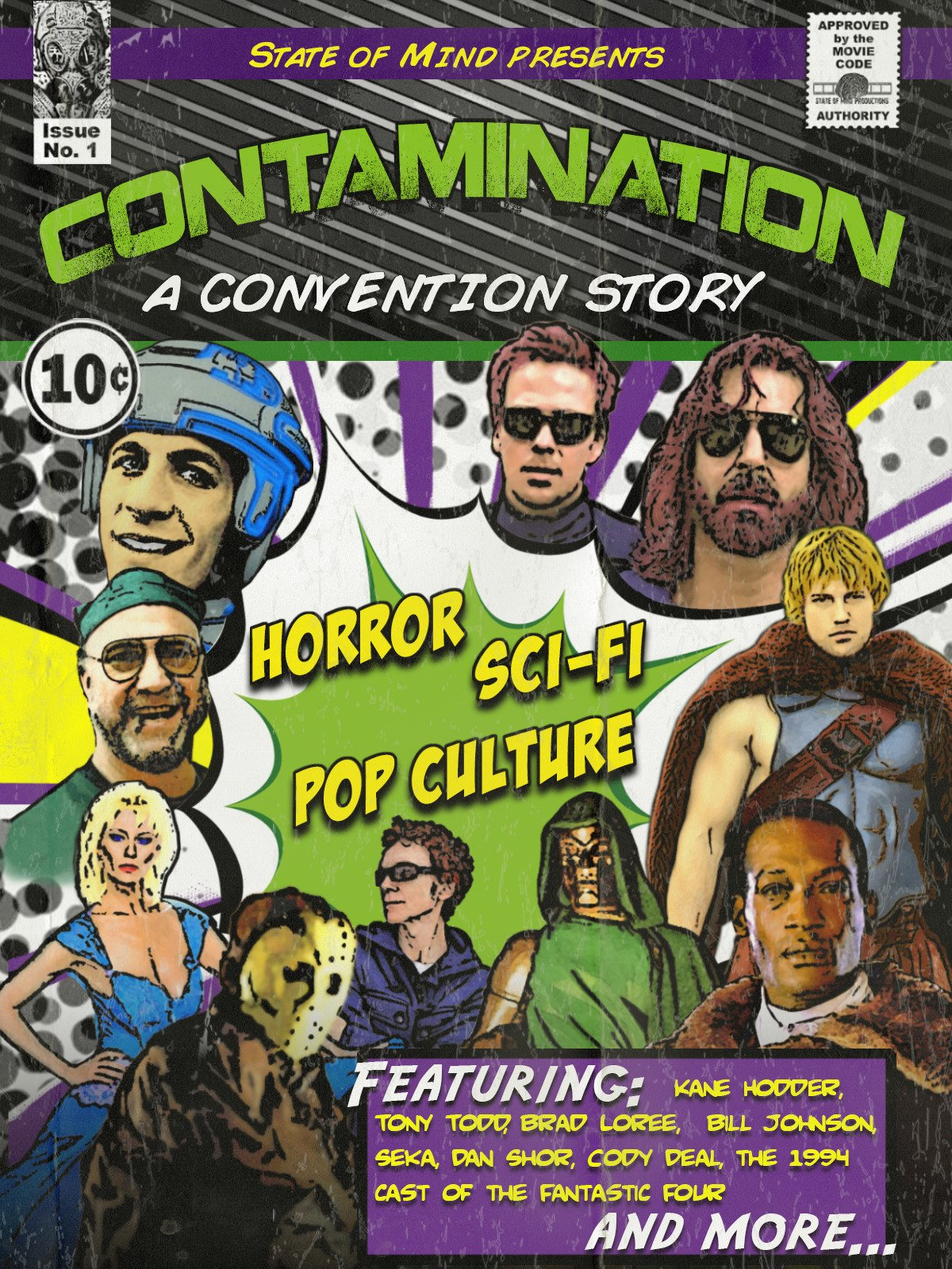 Contamination: A Convention Story on Amazon Prime Instant Video UK