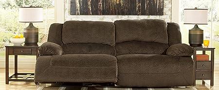 Toletta Chocolate 2 Seat Reclining Power Sofa