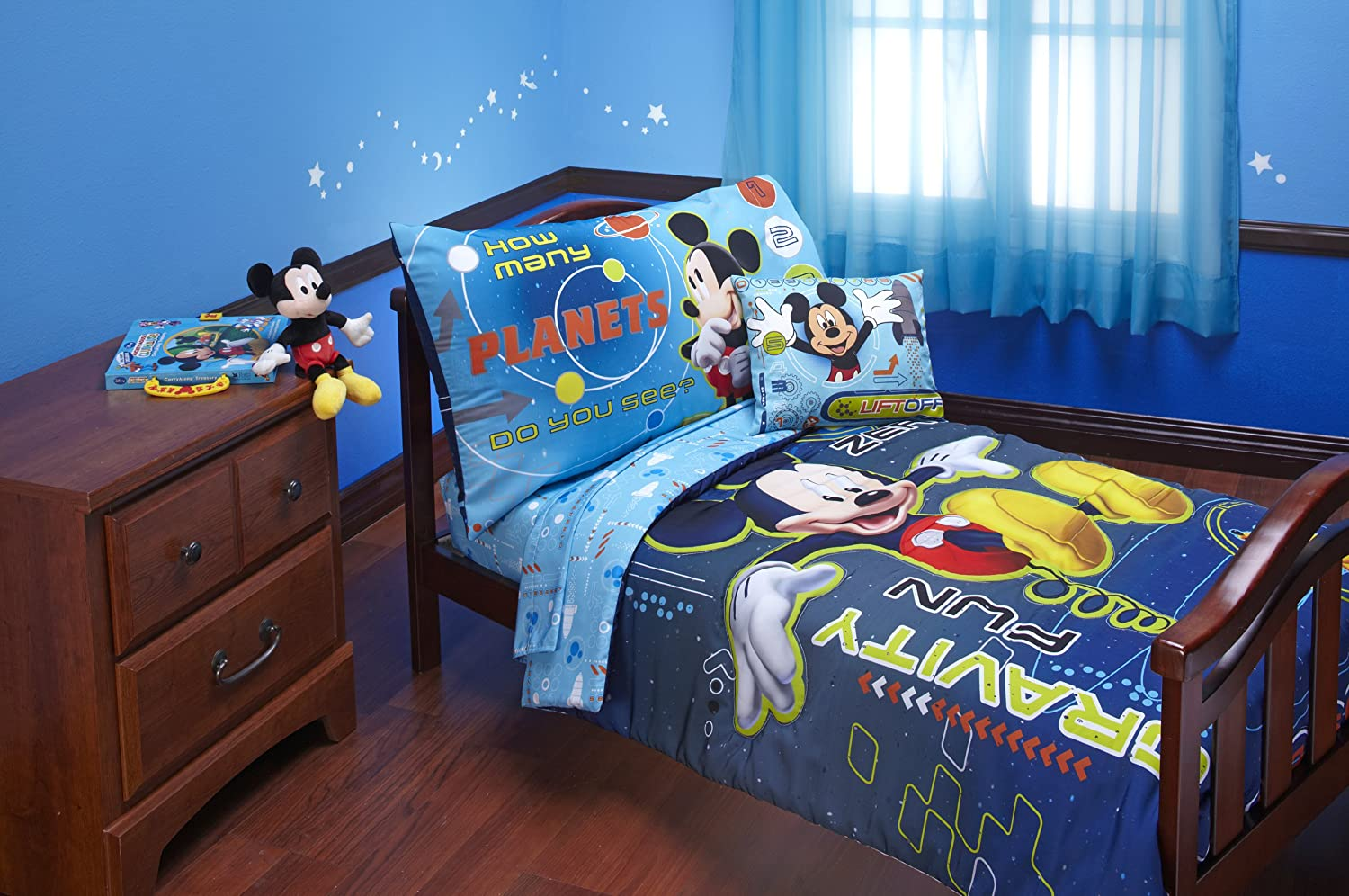 BnM Mickey Mouse 4 piece toddler bed set Space at Sears.com
