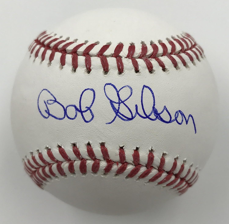 Bob Gibson Autographed Baseball