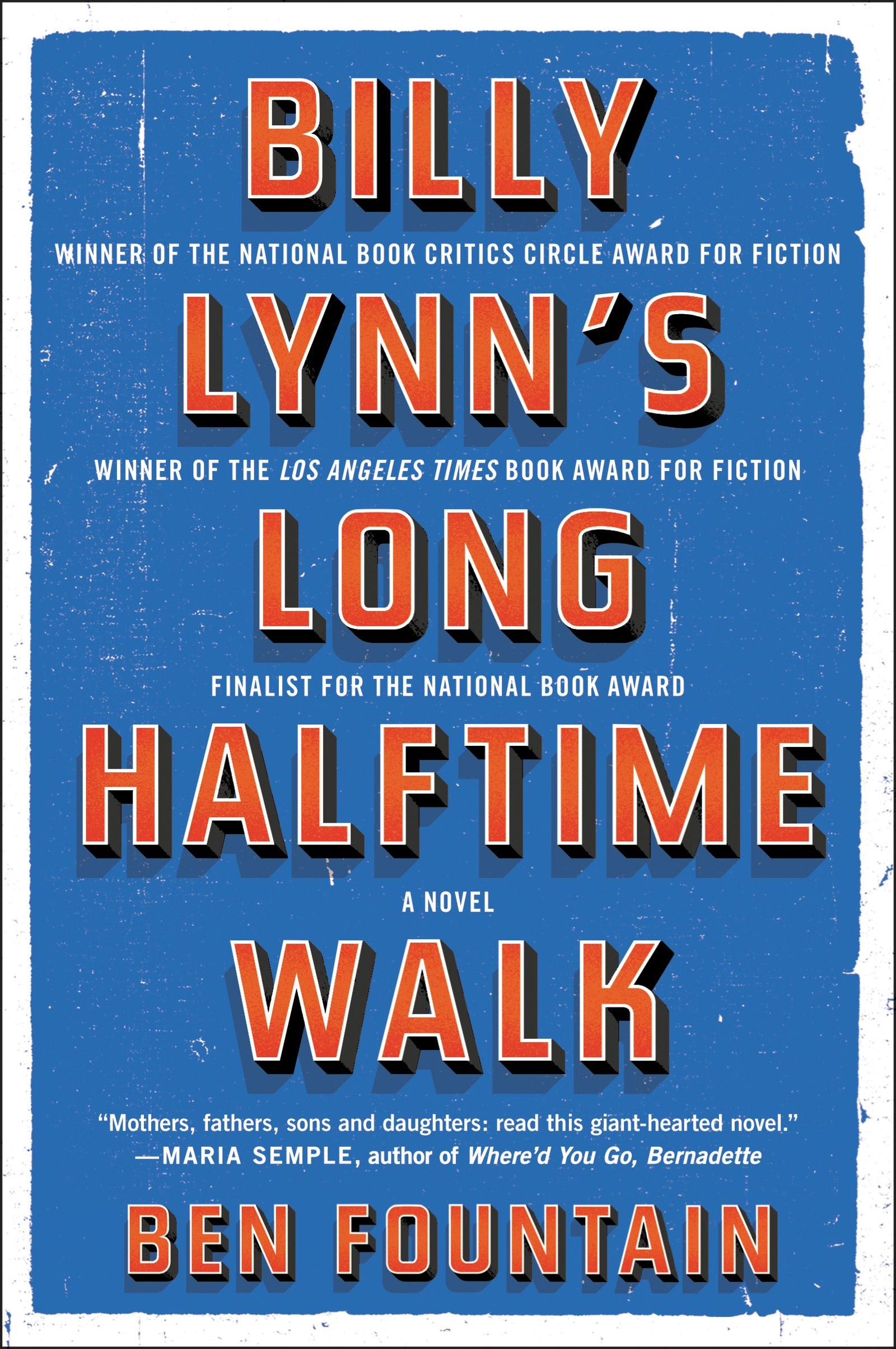 Billy Lynns Long Halftime Walk ISBN-13 9780060885618