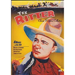 Tex Ritter Classic Westerns - Four Feature