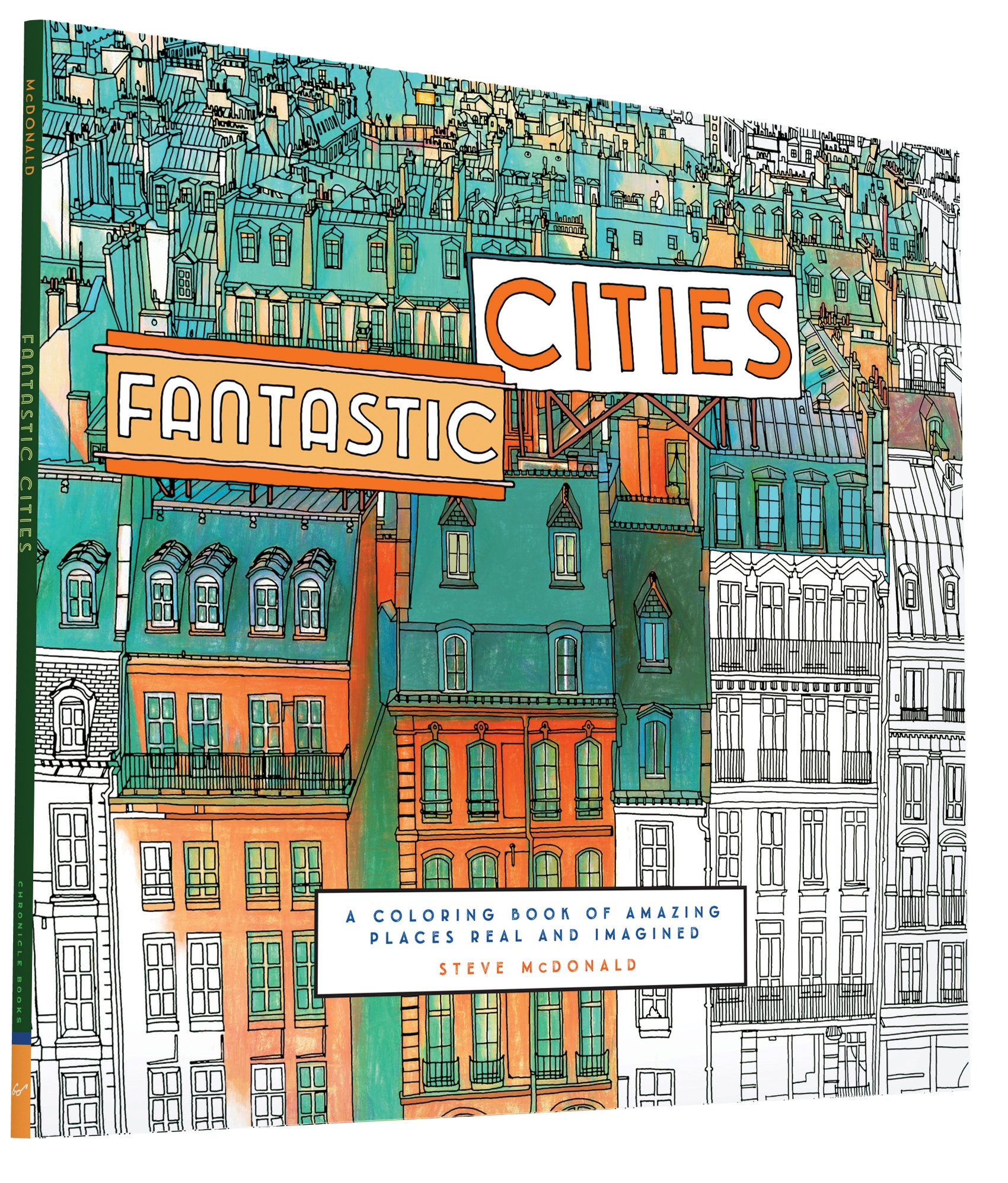 Fantastic Cities Features The Amazing Line Art By Steve McDonald Of Around World I Love Architecture Drawings And Aerial