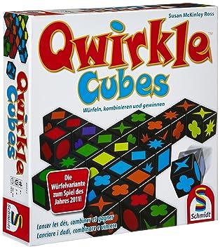 Schmidt Spiele 49257Qwirkle Cubes