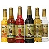 Jordan's Skinny Gourmet Syrups Variety Pack, 25.36 Ounce (Pack of 6) (Tamaño: 6-Pack)