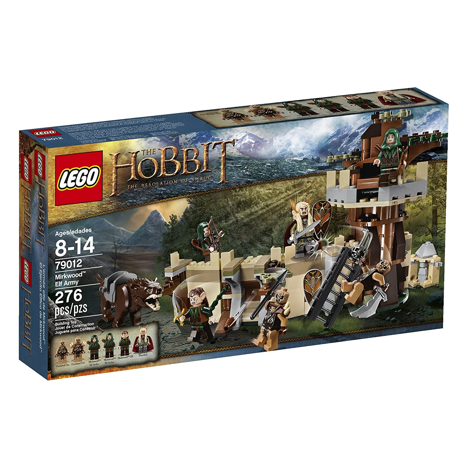 Lego Lord of the Rings Mirkwood Elf Army Building Kit Review