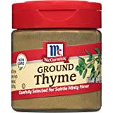McCormick Ground Thyme, 0.7 oz (Pack of 6)
