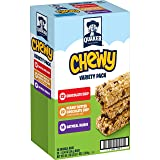 Quaker Chewy Granola Bars, Variety Pack, 58 Count