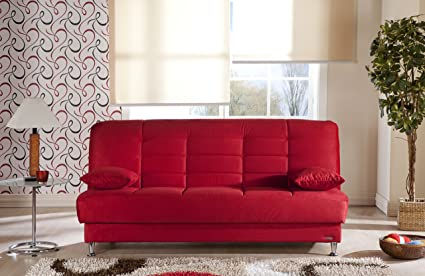 Vegas Sofa Sleeper - Rainbow Red