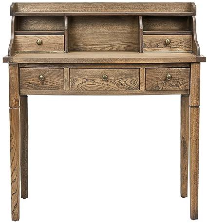 Safavieh Morgan scrivania, in legno di quercia, misura media