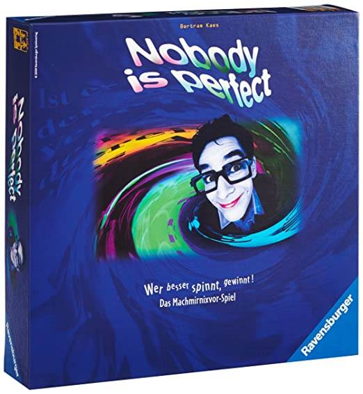 Ravensburger - 27225 - Jeux de Société Allemand - Nobody is perfect
