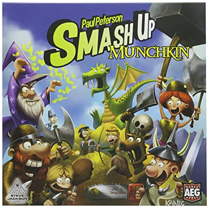 Alderac Entertainment Group smash-up Munchkin Jeu de cartes