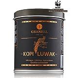 Cafés Granell Wild Kopi Luwak Coffee Whole Beans, 100grams (3.5oz) (Color: Brown)