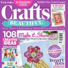 Crafts Beautiful - craft magazine specialising in knitting, crochet, quilling, felting, embossing and much more