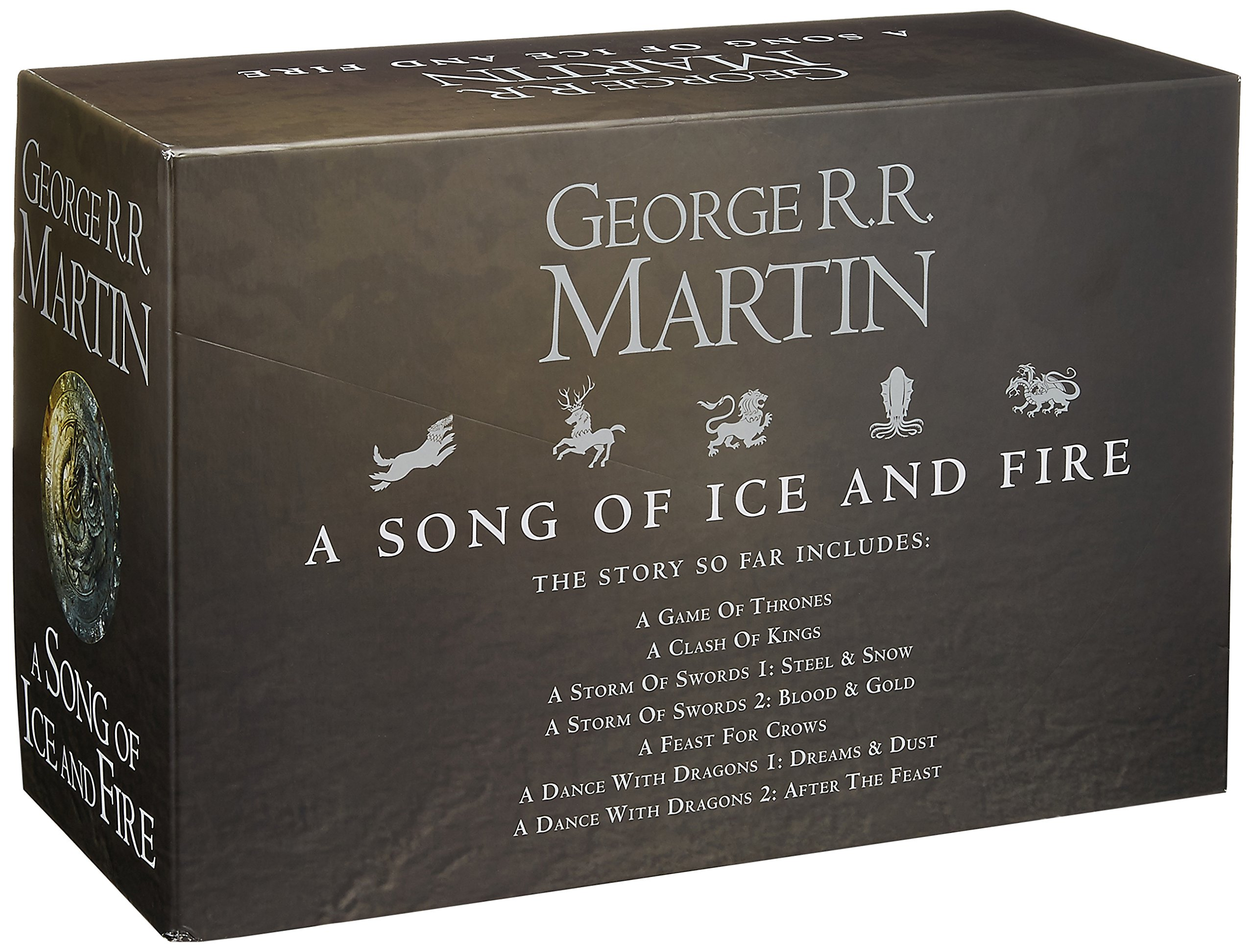 Buy A Song Of Ice And Fire  A Game Of Thrones: Theplete Boxset Of 7 Books  Book Online At Low Prices In India  A Song Of Ice And Fire