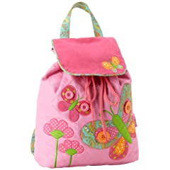 Stephen Joseph Girls 2-6X Signature Collection Quilted Backpack