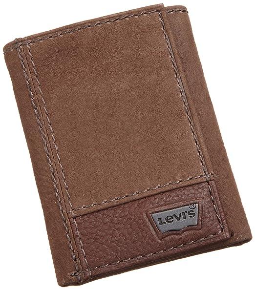 黑五凑单:Levi's 李维斯 男士三折竖款钱包