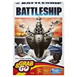 Battleship Grab and Go Game (Travel Size) (Color: Original Version)